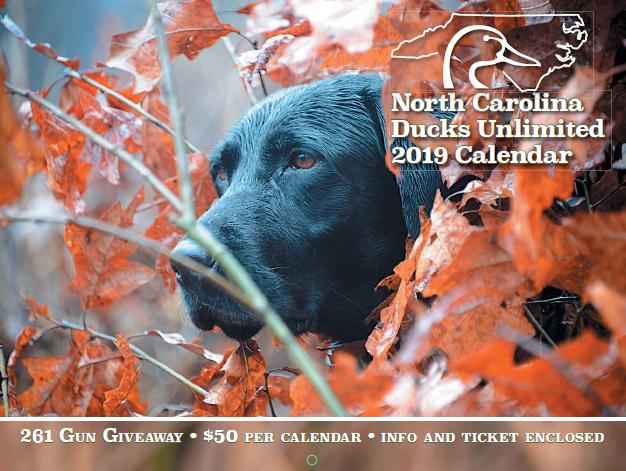 North Carolina Ducks Unlimited » NCDU Calendar Gun Raffle